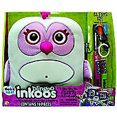Inkoos Blingoo Deluxe Owl Soft Toy with Glitter Glue Pens