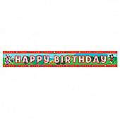Mickey Mouse Party Foil Banner (each)