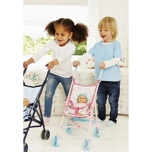 Cup Cake Doll's Stroller - Pink