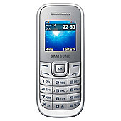 Tesco Mobile Samsung E1200i White