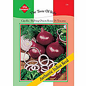 Onion 'Rossa di Toscana' - Vita Sementi® Italian Seeds - 1 packet (840 onion seeds)