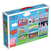 Peppa Pig 9 in 1 Puzzle Pack