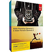Adobe Photoshop Elements and Premiere Elements 11 Bundle (PC/Mac) - Student and Teacher Edition