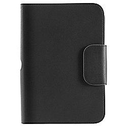 hudl 1 7'' Leather case & stand, Black