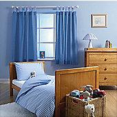 Baroo Cotbed Duvet Cover and Pillowcase Set - Artic blue