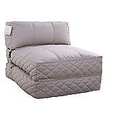 Leader Lifestyle Big Chill 1 Seater Fold Out Chair Bed - Beach Sand Fabric