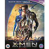 X-Men: Days Of Future Past 3D Blu-Ray + Digital HD UV