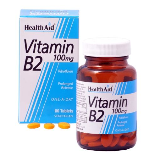 HealthAid Vitamin B2 Tablets
