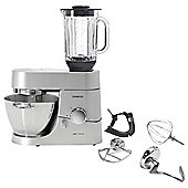 Kenwood KMC010 Titanium Chef Kitchen Machine - Silver