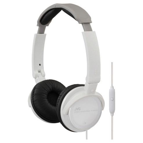 JVC HA-SR500W Lightweight Headphones White