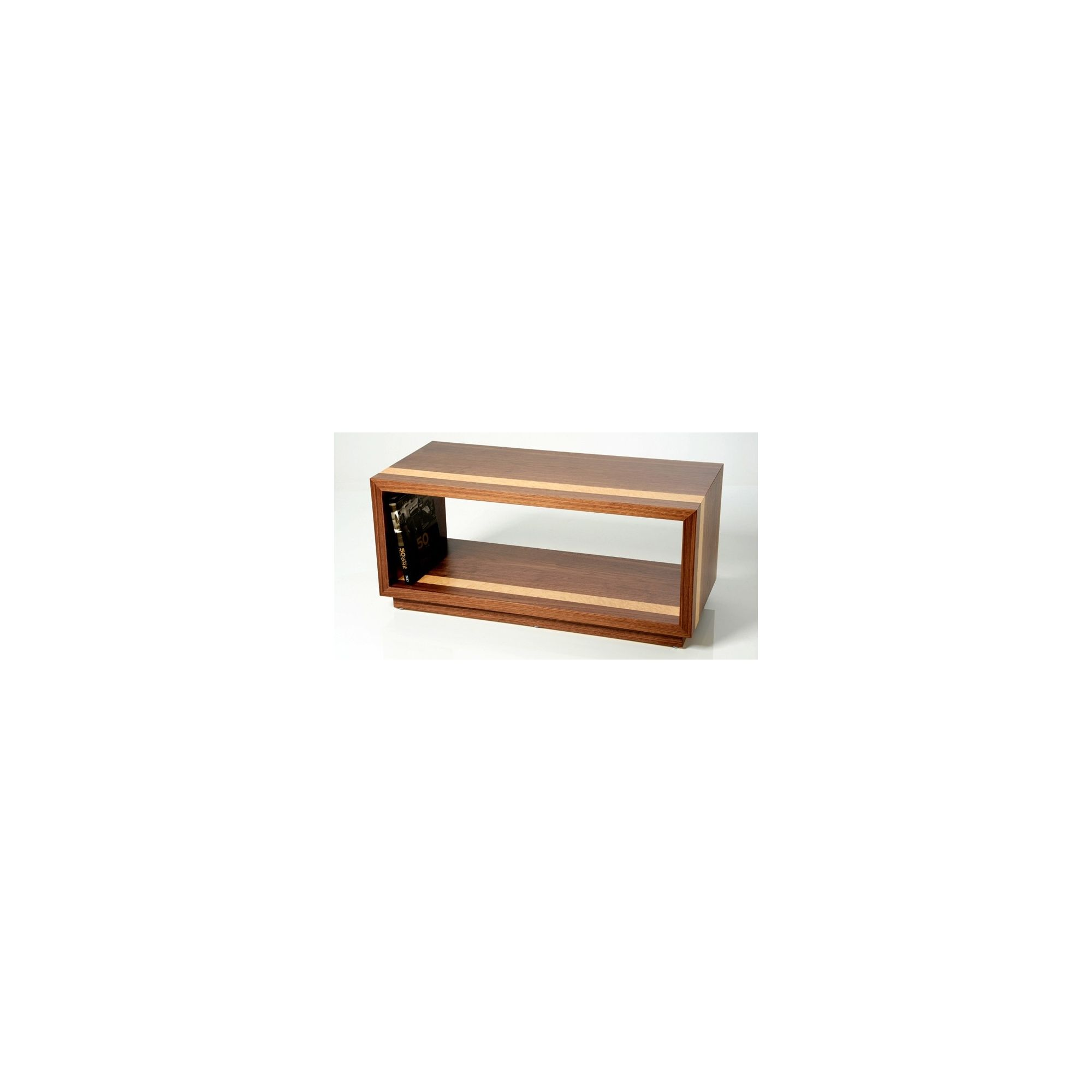 Trefurn Revival Coffee Table - Black Walnut and Birds Eye Maple at Tesco Direct
