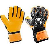 Uhlsport Ergonomic Absolutgrip Hn Goalkeeper Gloves - Black