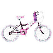 "Concept Starlight Girls Single Speed 18"" Purple/White"