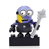 Mega Bloks Despicable Me Minions Series 1 Figure - Dave (Changing to Evil Purple)