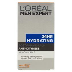 L'Oreal Men 100ML 24HR Hydrating Post Shave Balm