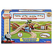 Fisher-Price Thomas & Friends Wooden Railway Transforming Track Bridge