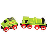 Bigjigs Rail BJT419 Big Green Engine