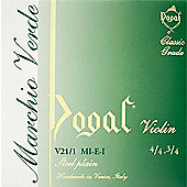Dogal V211/A Green Series Violin E String - 4/4 to 3/4