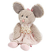 Keel Toys Belle Rose Ballerina Mouse Soft Toy