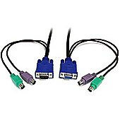 StarTech 6-feet 3-in-1 Ultra Thin PS/2 KVM Cable