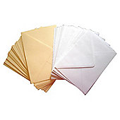C5 White & Cream Envelopes 50pk