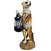 Kingfisher 37cm Meerkat Solar Light