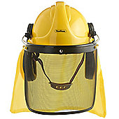 VonHaus 4 in 1 Construction / Forestry Helmet Hardhat