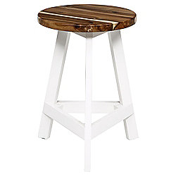 Malmo Occasional Table, White