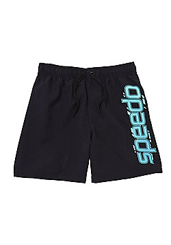 Speedo Logo Swim Shorts - Blue