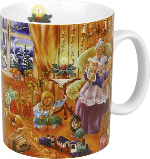 Konitz Carol Singers - Christmas Eve Mug (Set of 4)