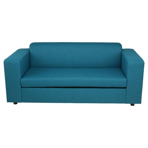 Stanza Fabric Sofa Bed Teal