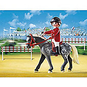 Playmobil Trakehner Horse/Equestrienne/Stable