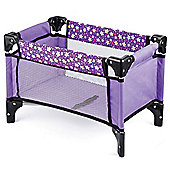 Toyrific Snuggles Deluxe Dolls Travel Cot