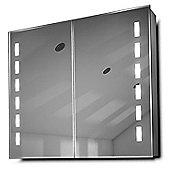 Cacia LED Bathroom Cabinet with Demister Pad, Sensor & Shaver k367