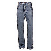 "Ciro Citterio Denim Straight Cut Mens Jeans - 34"" Leg - Sky blue"