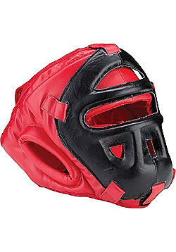 Blitz - Grilled Head Guard - Red