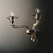 De Majo 7086 Wall Lamp - 24 cm H x 50 cm Dia