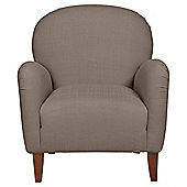 Lausanne Armchair  Linen Effect Taupe