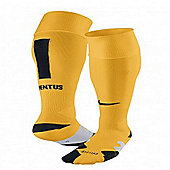 2013-14 Juventus Away Nike Football Socks (Yellow) - Yellow