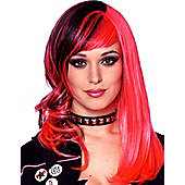 Adult Punked Out Wig
