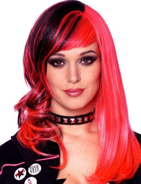 Pink Wig Tesco 83