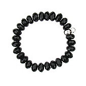 Little Angels Black Onyx Bead Bracelet