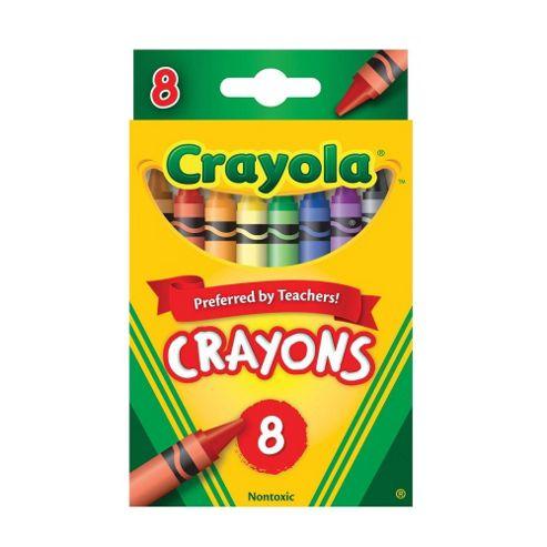 Crayola Coloured Crayons ( 8 Pack )