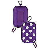 Compact camera case - Polka Dot