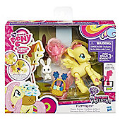 My Little Pony Flower Picking Fluttershy Poseable Figure