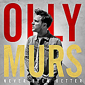 Olly Murs - Never Been Better - Pre-order and receive 200 extra clubcard points