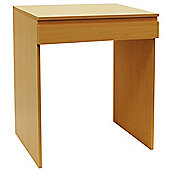 Tisch - Flip Top Office Desk / Dressing Table - Beech