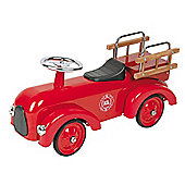 Classic red fire engine