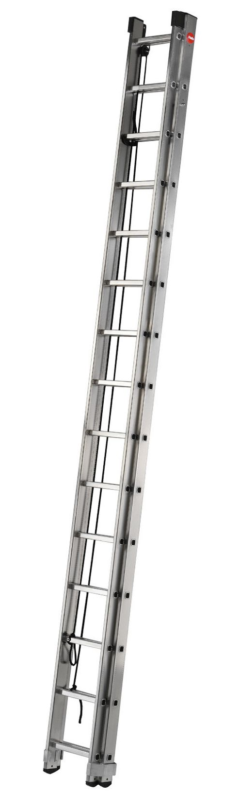 Hailo 843cm ProfiStep Duo 2-Section Aluminium Rope-Operated Ladder
