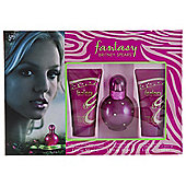Fantasy Eau De Parfum 30Ml & B/Souffle 50Ml & S/Gel 50Ml For Women By Britney Spears